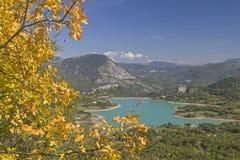 Lago di  Castel San Vincenzo Stock Photography