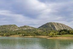 Lago di  Castel San Vincenzo Stock Image