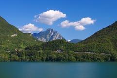 Lago di Cavazzo Стоковые Изображения