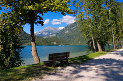 Lago di Cavazzo Стоковое Фото