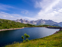 Lago di Cavia - Dolomites - Italy Royalty Free Stock Photography