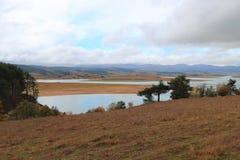 Lago di Cecita Sila Photographie stock libre de droits