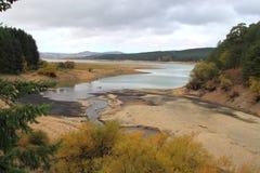 Lago di Cecita Sila immagini stock libere da diritti