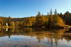Lago di Cei - Trentino Alto Adige Italy Stock Photo