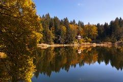 Lago di Cei - Trentino Alto Adige Italy Stock Images