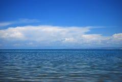 Lago di colore del cambiamento Fotografia Stock Libera da Diritti