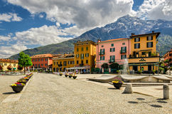 Lago di Como (озеро Como) Domaso Стоковые Изображения RF