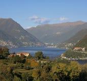 Lago di Como Imagenes de archivo
