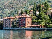 Lago di como di Bellano Italia Fotografia Stock