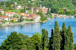 Lago di Como (Italy) Royalty Free Stock Image