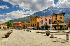 Lago di Como (lago Como) Domaso Imagens de Stock Royalty Free