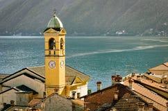 Lago di Como (Lake Como) Colonno Royalty Free Stock Image