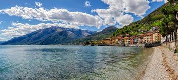 Lago di Como (Lake Como) Domaso Royalty Free Stock Photos
