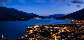 Lago di Como (Lake Como) high definition panorama Royalty Free Stock Photo