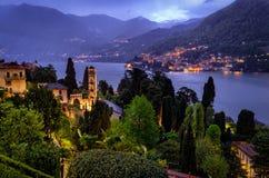 Lago di Como (Lake Como) Moltrasio Royalty Free Stock Images