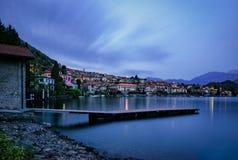 Lago di Como (Lake Como) Royalty Free Stock Photography