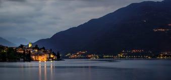 Lago di Como (Lake Como) Rezzonico Stock Photos