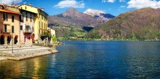 Lago di Como (Lake Como) Rezzonico Stock Photography