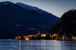 Lago di Como (Lake Como) Varenna Stock Image