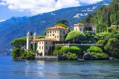 Lago di Como - Lenno Italia Imágenes de archivo libres de regalías