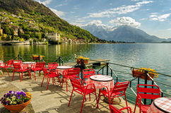 Lago di Como (northern Italy) Royalty Free Stock Image
