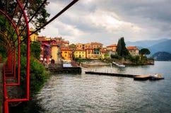 Lago di Como Varenna Royalty Free Stock Photography