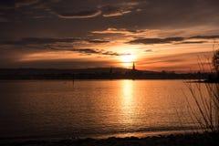 Lago di Constance fotografia stock