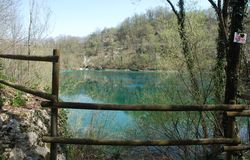Lago Di Cornino in de Lente Royalty-vrije Stock Afbeeldingen
