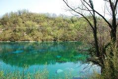 Lago di Cornino in Spring Stock Images