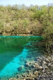 Lago di Cornino in Spring Royalty Free Stock Image