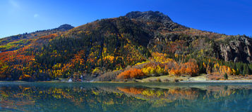 Lago di cristallo Fotografia Stock