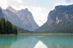 Lago di Dobbiaco Stockfotografie