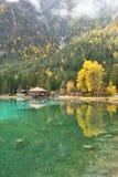 Lago di Dobbiaco photos libres de droits