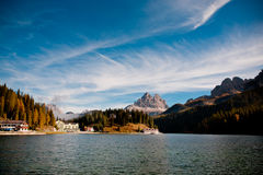 Lago di Dobiacco Royalty Free Stock Photo