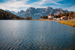 Lago di Dobiacco Royalty Free Stock Images