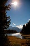 Lago di Dobiacco Fotografie Stock