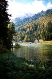 Lago di Dobiacco Royalty Free Stock Photos