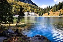 Lago di Dobiacco Royalty Free Stock Photos
