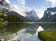 Lago di Dobiacco Immagine Stock Libera da Diritti