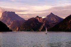 Lago di estate di Irrsee L'Austria del nord Fotografia Stock