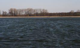 Lago di estate di mattina in Polonia Fotografia Stock