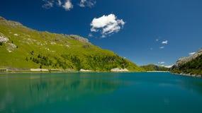 Lago Di Fedaia Stock Images
