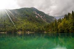 Lago di Fusine - Friuli Italia Fotografia Stock Libera da Diritti