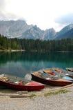 Lago di Fusine - Friuli Italia Fotografie Stock Libere da Diritti