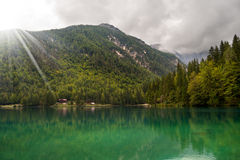 Lago di Fusine - Friuli Italy Royalty Free Stock Photo