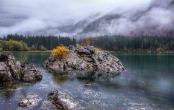 Lago di Fusine Stock Photo