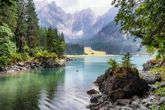 Lago Di Fusine Superiore Stock Foto's