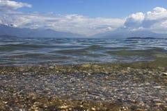 Lago di garda Италия Стоковая Фотография RF