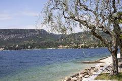 Lago di garda Италия Стоковые Изображения