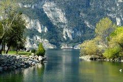 lago di garda Италии Стоковые Изображения RF
